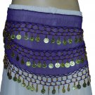 Wholesale 10 colors hip scarves for child / kid belly dancers