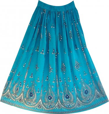 10 women's gypsy skirts with Embroidery - fast shipping Wholesale