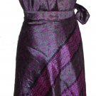 36 inch reversible sari wrap magic skirt dress 10 pcs  - XL size skirts