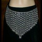 Belly Dance metal belt silver color buy online DANCE EHS