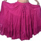 Indiantrend 25 Yard Egyptian Belly Dance Skirt - HotPink