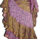 25 Yard India Boho Freepeople Style Gypsy Tribal Fusion Belly Dance Skirts