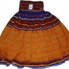 Original Vintage Ethnic Banjara Kuchi ATS Tribal Fusion Belly Dance Jaipur Skirt