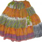 Belly Dance Costume Chiffon Belly Dance Tribal Skirt - 22 Colors