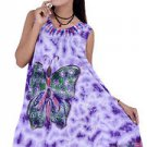 10 Pcs Pack of Butterfly Sleeveless Caftan Dress / Cover Up Dress
