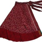 Wholesale Lot of 10 DOUBLE LAYER REVERSIBLE WRAP SKIRT/DRESS - 100 Ways to Wear