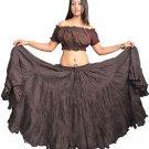 25 Yard Gypsy Tribal Danc Skirt New 100%  cotton
