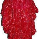 West African Dance polka dot skirt Dark pink 25 Yard