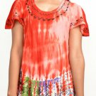 Wevez Women Tie Dye Beach Short Tops - 10 Pcs Lot