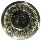 4 pcs gold Brass Finger Cymbals Zills Belly Dancer