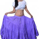 "25 yard belly dance skirt - belly dance skirts 40"" long"