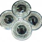 Egypt Belly Dance Silver Finger Cymbals Zills 16 pcs 8 Pair Zills