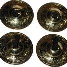 High Quality Belly Dance ZILLS Set Finger Cymbals Golden Zills 16 Pcs