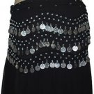 Pack of 12 colors Belly Dance dancing Waist Chain Coin Hip Scarfs