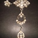2 pcs Bridal Vintage Style Rhinestone Brooch pin Pi158