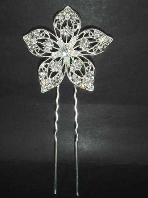 Bridal Rhinestone Vintage Style Hairpin Hair Pin RP67