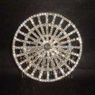 Bridal Rhinestone Hat Crystal Hair tiara Comb RB442