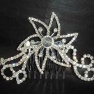 Bridal Rhinestone crystal bling Hair Tiara Comb RB426
