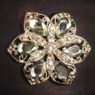 Bridal Vintage Style Rhinestone Brooch pin PI222