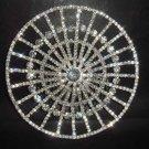 Bridal Rhinestone Hat Crystal Hair tiara Comb RB439