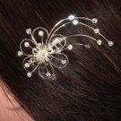 BRIDAL VEIL PROM RHINESTONE HAIR TIARA COMB BH133