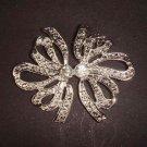 Bridal dress cake topper Rhinestone Brooch pin Pi418