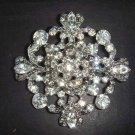 4 pcs Bridal Vintage style Rhinestone Brooch pin PI168