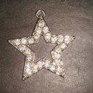 Bridal Star Bling Crystal Rhinestone Pendant PN9