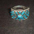 Vintage style crystal Rhinestone Cocktail Ring R32