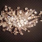 Bridal Vintage Style Crystal Rhinestone Brooch pin PI74