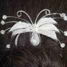 Bridal Rhinestone crystal cocktail Hair tiara Pin RP76