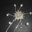 Bridal Crystal rhinestone Hairpin hair pin BH198