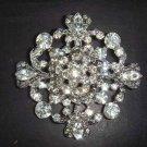 Bridal Vintage style Rhinestone Brooch pin Pi168