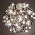 Bridal Crystal Vintage style Rhinestone Brooch pin PI30