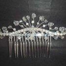 Bridal Rhinestone crystal Hair Tiara Comb RB424