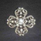 Bridal Crystal Vintage style Rhinestone Brooch pin PI36