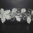 Bridal Crystal Rhinestone Flower Hair tiara Comb RB34