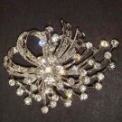 Wedding Bling Rhinestone crystal Pin Brooch PI01