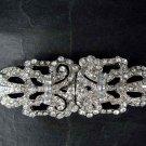 Dress Crystal Rhinestone clasp hook buckle button BU10