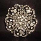 Bridal Vintage Style Rhinestone Brooch pin PI183