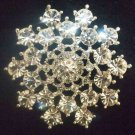 Bridal cake topper crystal Rhinestone Brooch pin PI431