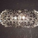 Bridal dress Vintage style  Rhinestone Brooch pin PI417