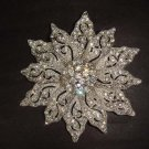 Bridal dress Vintage style Rhinestone Brooch pin PI278