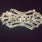 Bridal Vintage style Rhinestone Brooch tiara pin PI434