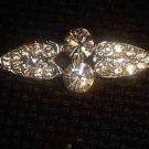 Vintage style Rhinestone clasp dress buckle button BU47