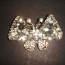 Bridal Butterfly crystal Rhinestone Brooch pin PI477