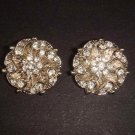 2 pc Bridal dress crystal sewing Rhinestone button BN4