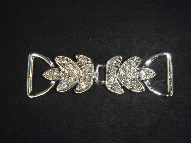 Jewel repair Rhinestone clasp hook buckle button BU48