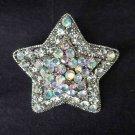 Bridal Star Crystal Rhinestone Brooch pin PI309