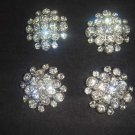 4 pcs Repair sew crystal Rhinestone repair dress button BN32